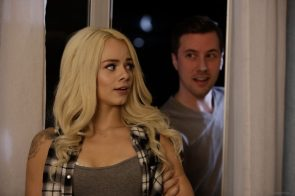 Elsa Jean getting grabbed from behind