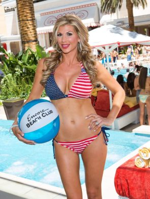 Encore Beach Club Bikini Girl