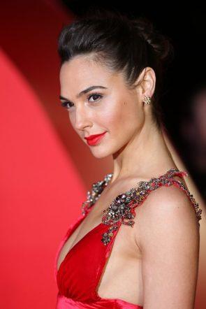 Gal Gadot in red dress
