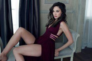 Gal Gadot showing off her legs