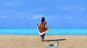 Legend of korra on the beach