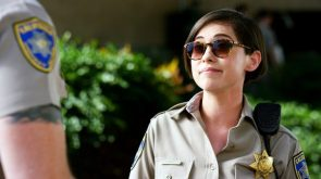 Rosa Salazar was a cop in CHiPs
