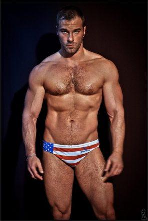 Sexy American Flag Speedo