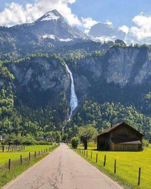 Switzerland's Waterfall Road