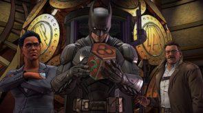 Batman Inspecting a Box