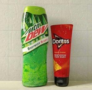 body wash and moisturizing face wash