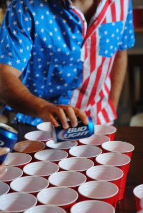 bud light for the fourth