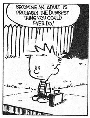 Calvin Becoming An Adult