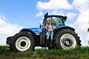 Country Girl and her Tractor