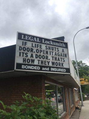 if life shuts a door