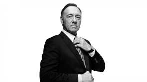 Kevin Spacey Adjusting His Tie