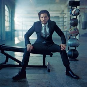 Kit Harington in a suit
