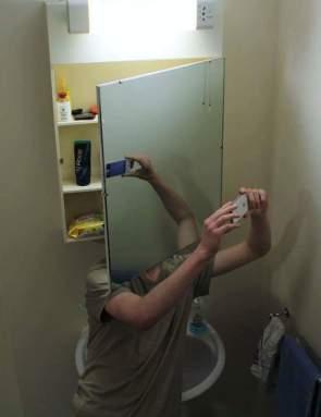 Mirror Man Selfie