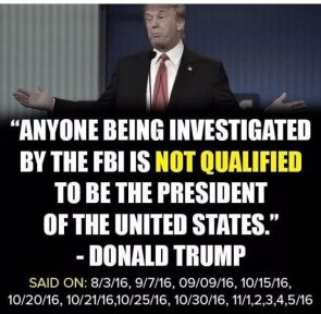 Not Qualified to be President