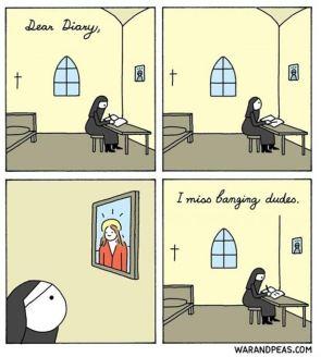 Nun Diary Entry