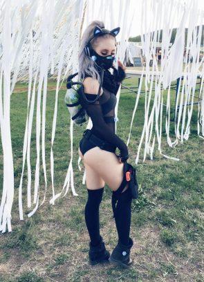 petite-choufleur cyber punk cosplay