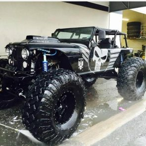 Punisher Jeep