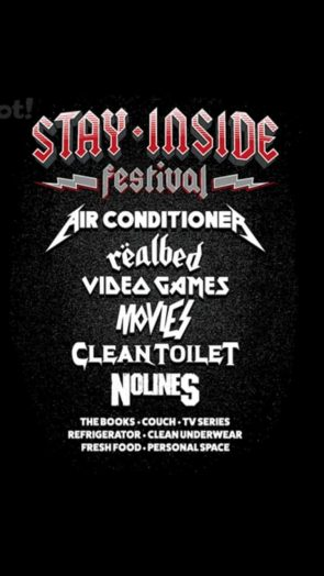 Stay Inside Summer Festival