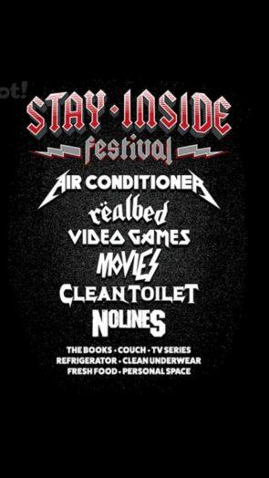 Stay Inside Summer Festival
