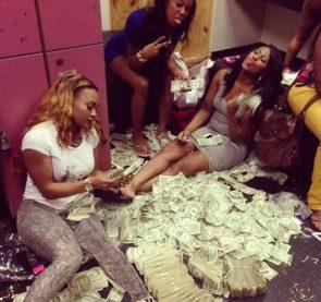 strippin for money