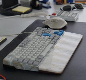 White Marble Keyboard