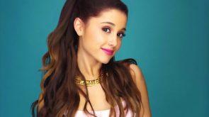 Ariana has glassy eyes