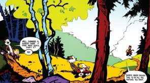 Calvin and Hobbes missed summer