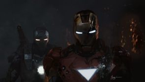 Iron Man and His BFF War machine