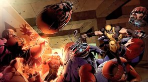 Wolverine Vs Sentinels