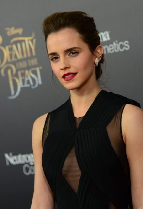 Emma with large ear rings