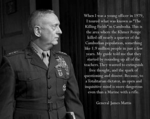General James Mad Dog Mattis
