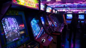 Modern Arcade with Old Machines