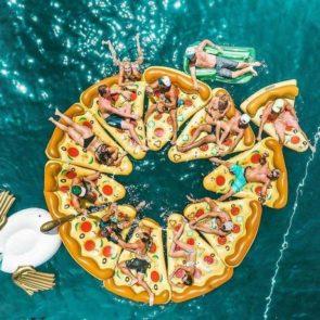 Pizza Floats