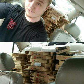 Pizza Theft