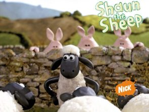 shaun the sheep with three pigs