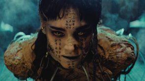 Sofia Boutella was a mummy in 2017