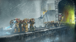 Space Marines on the March