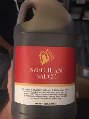 Szechuan Suace Disclaimer Label