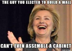 The Guy You Elected To Build A Wall Can't Even Assemble A Cabinet
