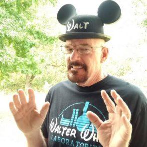 Walt in Hat