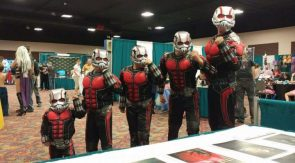 Ant-Man Cosplayers