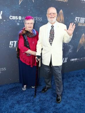 Bjo and John Trimble at Star Trek Discovery Hollywood premiere