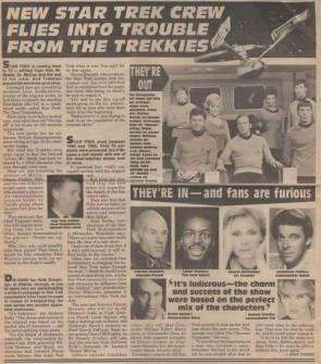 New Star Trek Crew