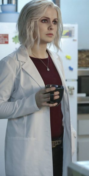 Rose McIver as a Zombie In Lab Coat