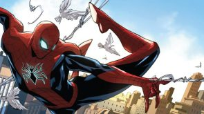 Spider-man and birds