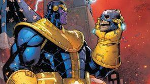 Thanos ate Captain America's Body