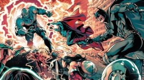 The Justice League in Battle