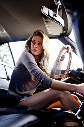 Amber Heard Can Drive