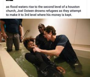 as flood levels rise