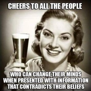 Cheers to all the people